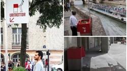 Kota Paris, Prancis, punya cara sendiri unik untuk mengatasi masalah sanitasi dan kebersihan lingkungannya. Yaitu dengan memasang urinal terbuka.