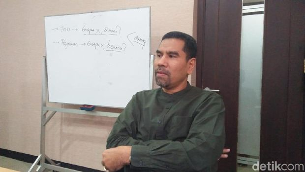 Komisioner Komnas HAM Amiruddin Al Rahab