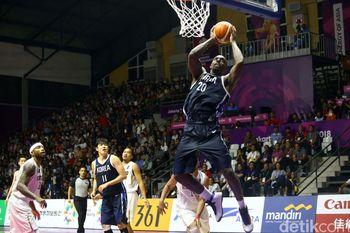Timnas Basket Indonesia Tumbang di Laga Perdana
