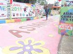Begini Jadinya Saat Santri-santri di Banjarnegara Demam Asian Games