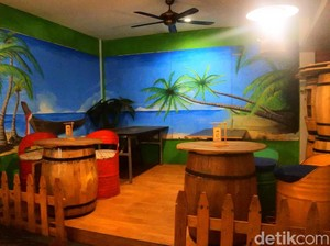 Uniknya Restoran dengan Konsep Petualang di Tebet