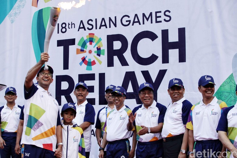 Ini Rute Kirab Obor Asian Games Hari Ini
