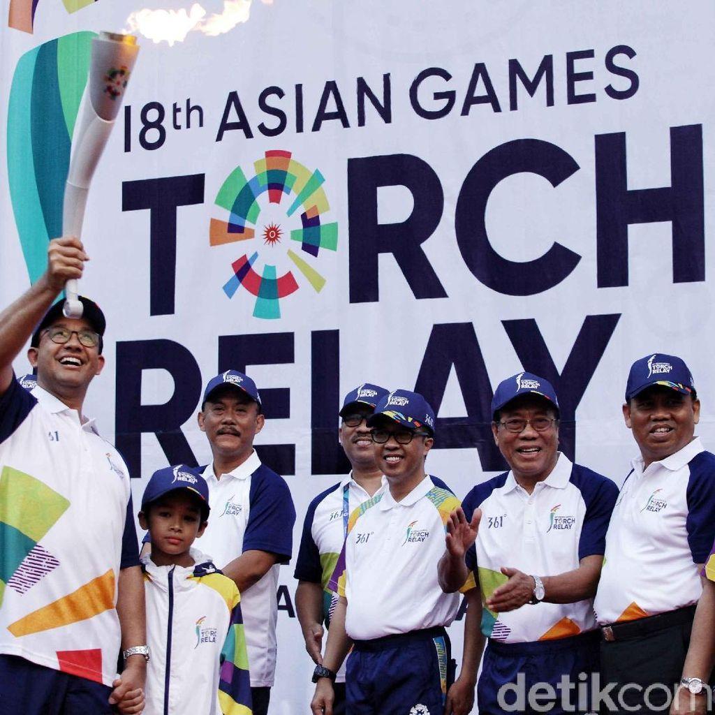 Video: Obor Asian Games Siap Keliling Jakarta Lagi!