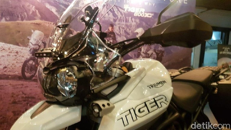 Triumph Tiger XCX Foto: Rangga Rahardiansyah
