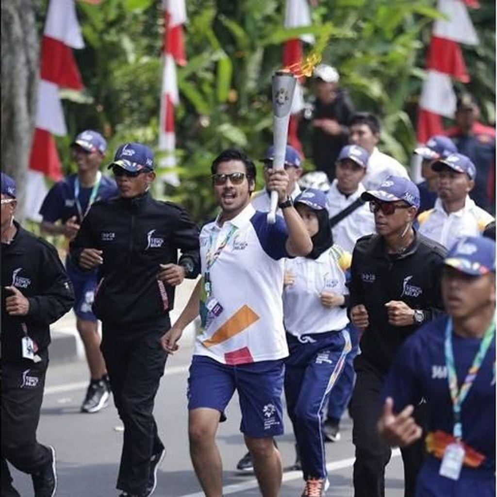 Chicco Jerikho Bangga Jadi Pembawa Obor Asian Games 2018