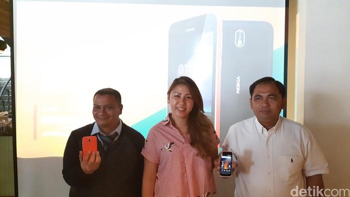 Suasana peluncuran Nokia 1. Foto: Virgina Maulita Putri/detikinet