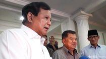 Temui JK, Prabowo Minta Restu Maju Pilpres