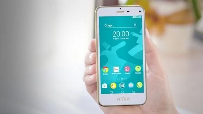 e3, salah satu varian ponsel dari Venus Phone. Foto: Istimewa