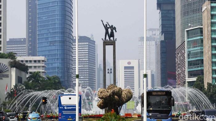 Pemprov DKI Jakarta memberlakukan car free night pergantian tahun 2018-2019/ Foto: Pradita Utama