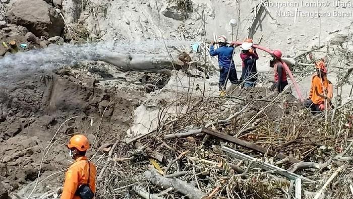 Situasi di Lombok. Foto: Dampak gempa 7 SR di NTB (istimewa/dok BNPB)