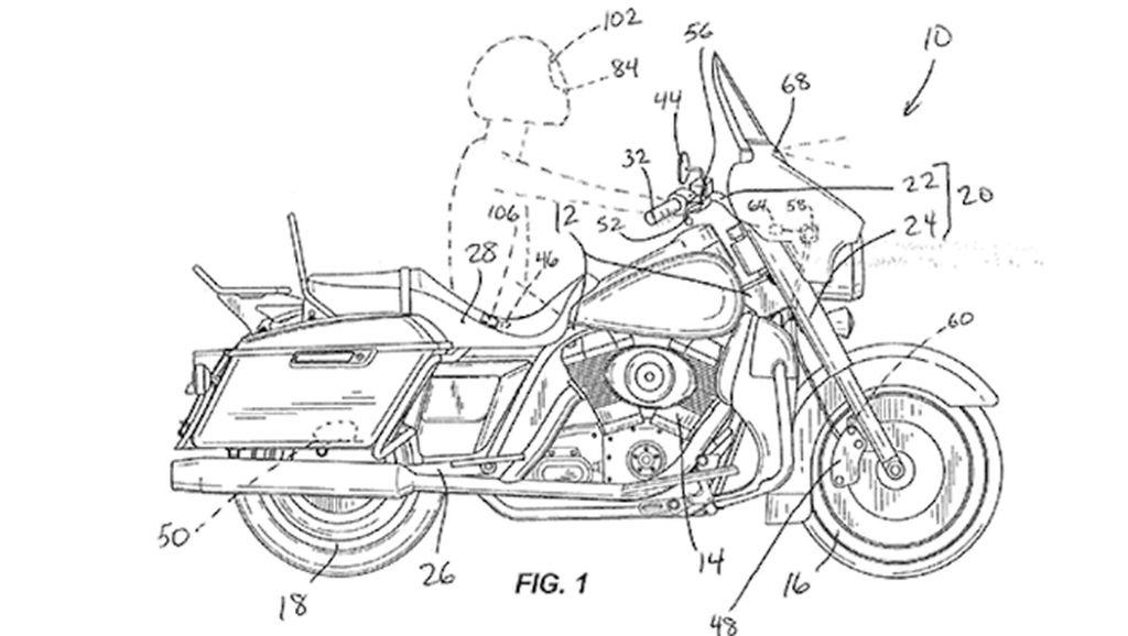 Keren! Motor Harley-Davidson Bakal Bisa Berhenti Otomatis