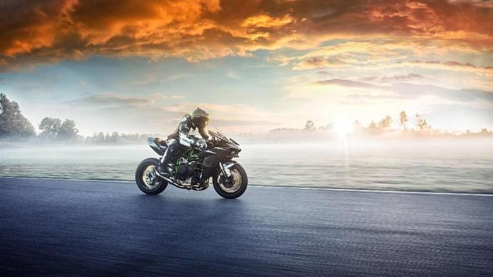 Kawasaki mengumumkanNinja H2terbaru untuk model tahun 2019,Foto: Kawasaki