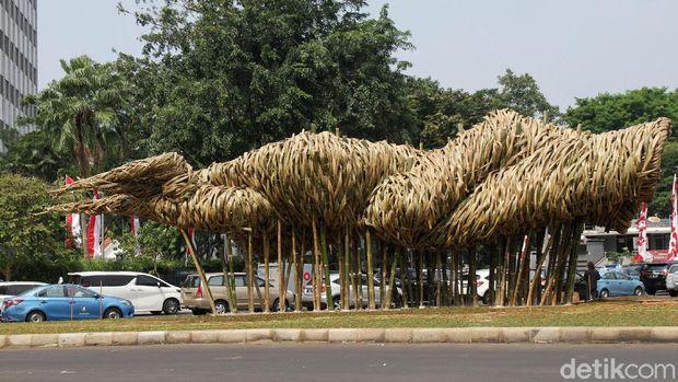 Ini Arti Seni Bambu Joko Avianto yang Jadi Proyek Anies Baswedan