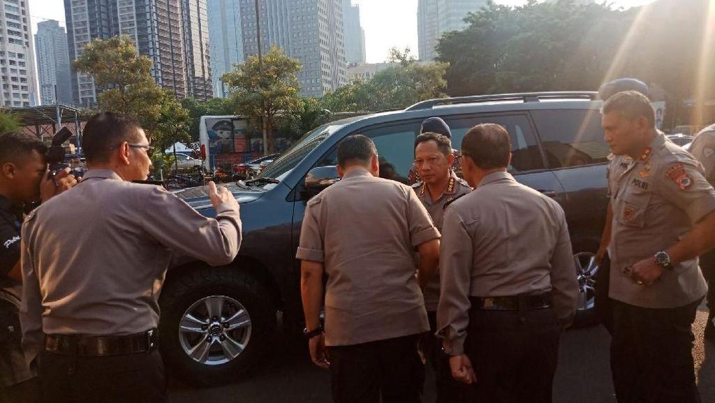 Kapolri Pimpin Rapat Pengamanan Asian Games di Polda Metro