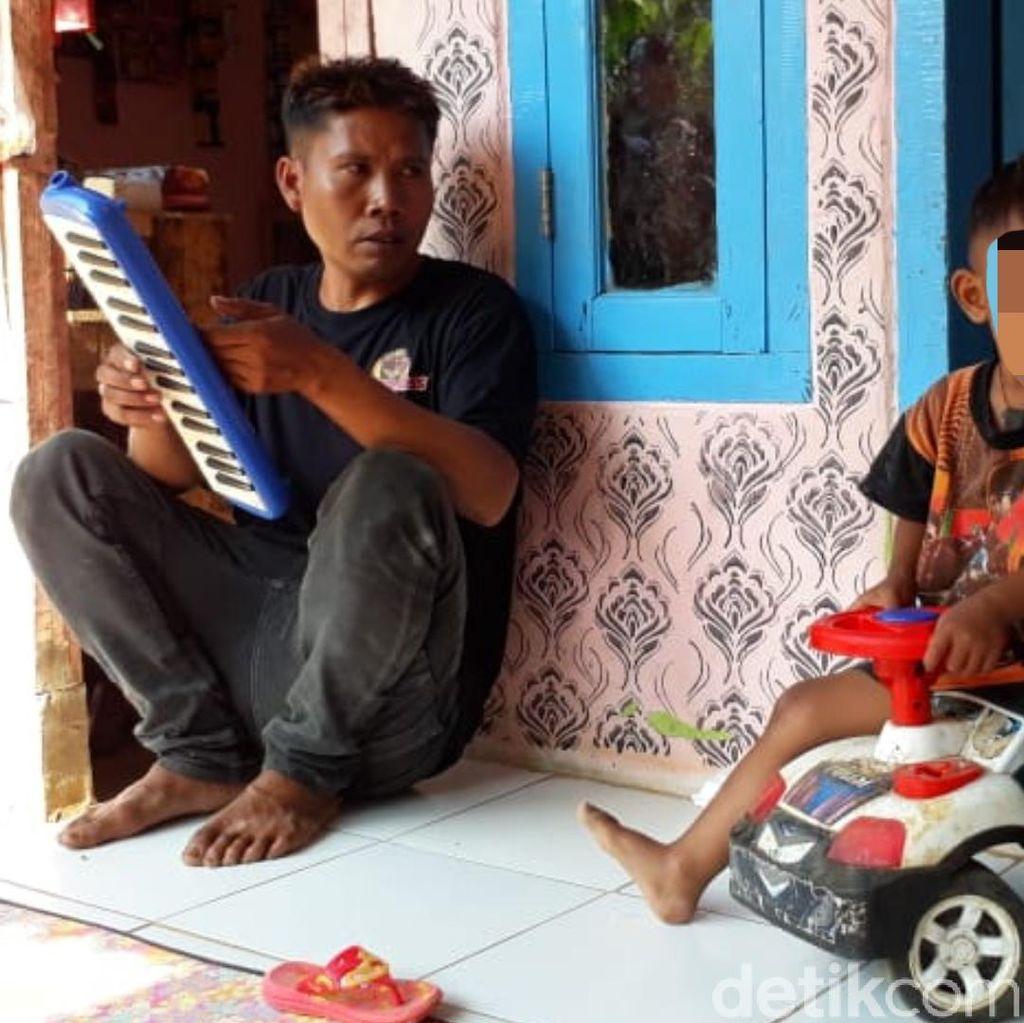 Diperiksa Tim Medis, Begini Kondisi Balita Perokok di Sukabumi