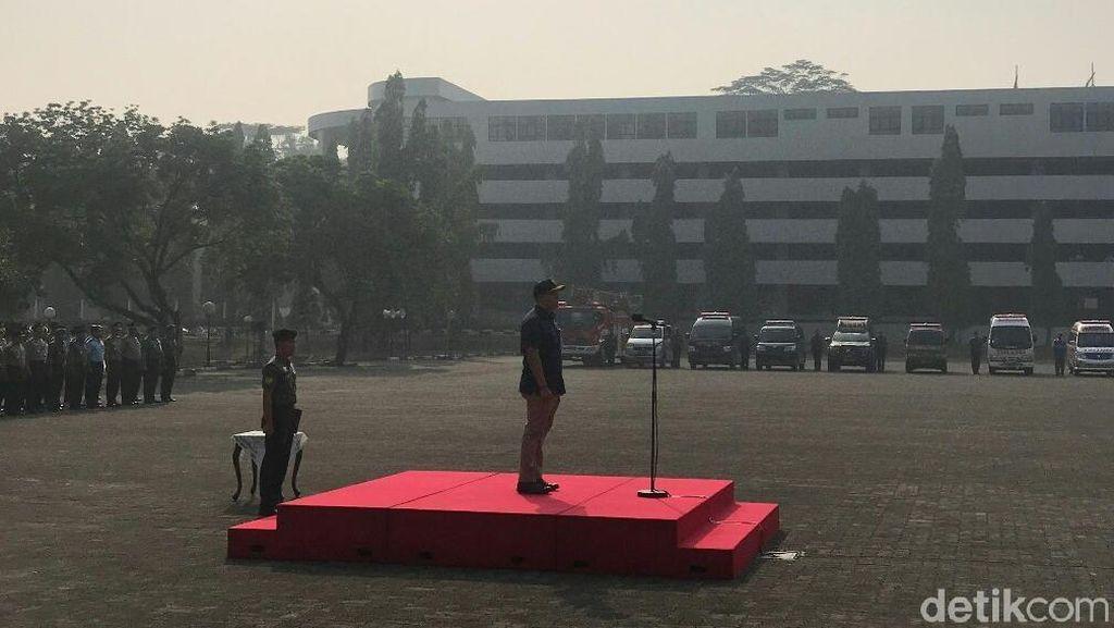 Bentuk Satgas Kesehatan Asian Games, TNI-Polri Siagakan 80 Ambulans