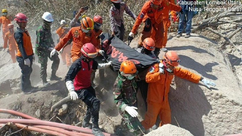 555 Orang Meninggal Akibat Gempa Lombok Selama Agustus