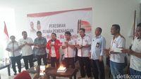 Jaman meresmikan rumah pemenangan untuk Jokowi-Ma'ruf Amin