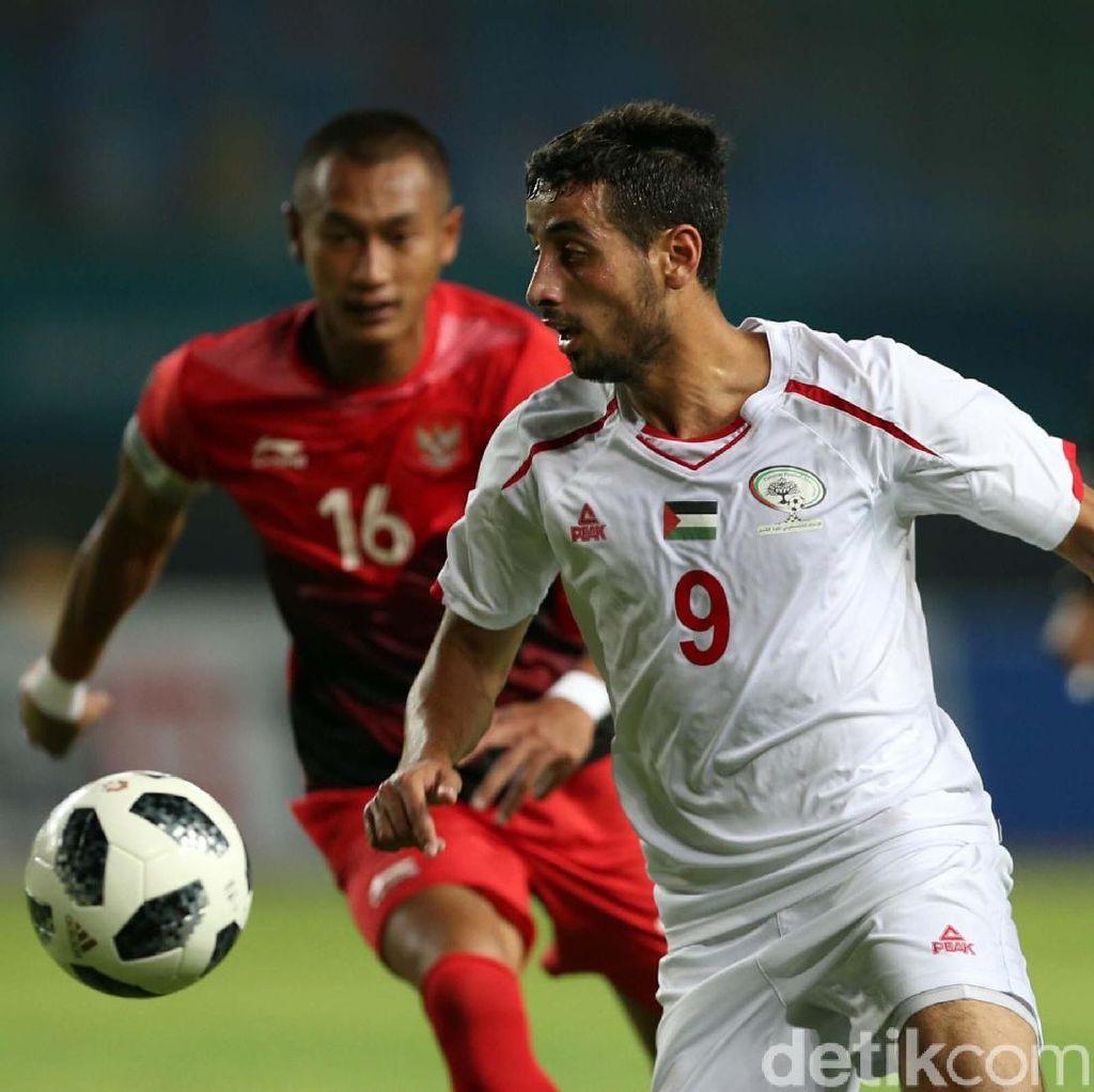 Indonesia Ditekuk Palestina 1-2