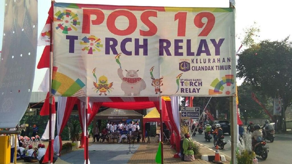 Tips Menonton Pawai Obor Asian Games 2018