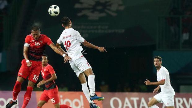 Timnas Indonesia U-23 dikalahkan Palestina 1-2 pada pertandingan Grup A Asian Games 2018.