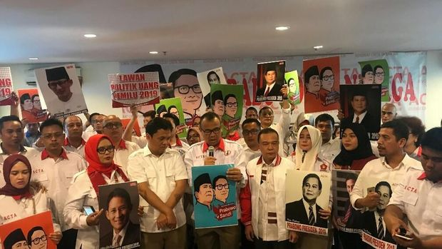 Wakil Ketua ACTA Masuk Timses Jokowi-Ma'ruf