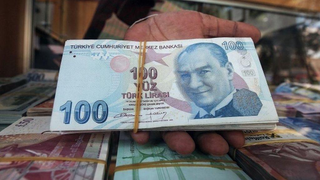 Lira Turki Sudah Anjlok 40% di 2018