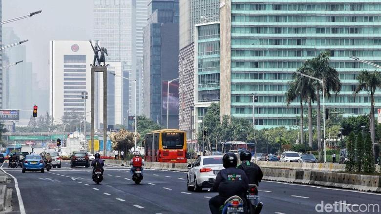 Uji Coba e-Tilang di Sudirman-Thamrin, 4 CCTV Disiapkan