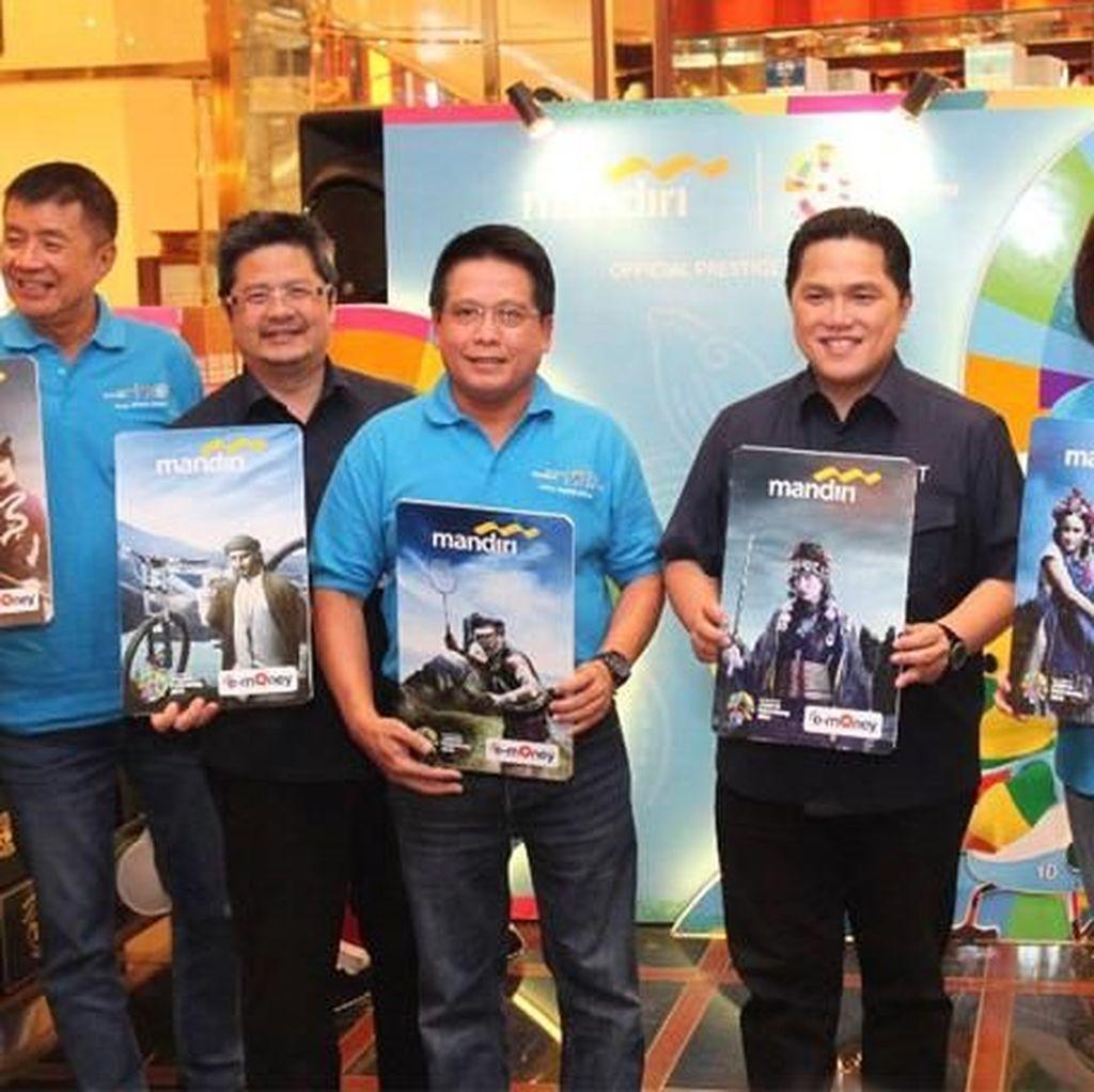 Mandiri Luncurkan e-Money dan Ticket Box Asian Games