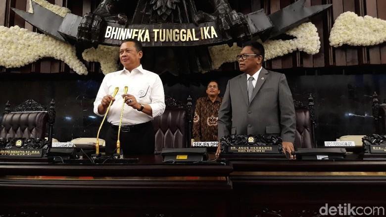 Bamsoet dan OSO Pimpin Geladi Bersih Sidang Tahunan MPR 2018