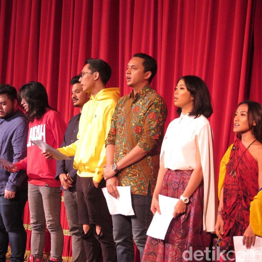 Bantu Korban Gempa di Lombok, Barasuara Lelang Kaus