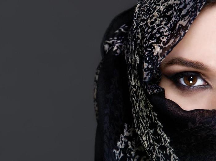 Ilustrasi wanita bercadar (Foto: Thinkstock)