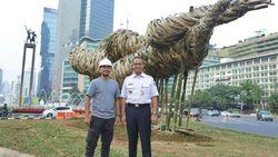 Instalasi Bambu hanya Tahan 6-12 Bulan, Ini Penjelasan Anies