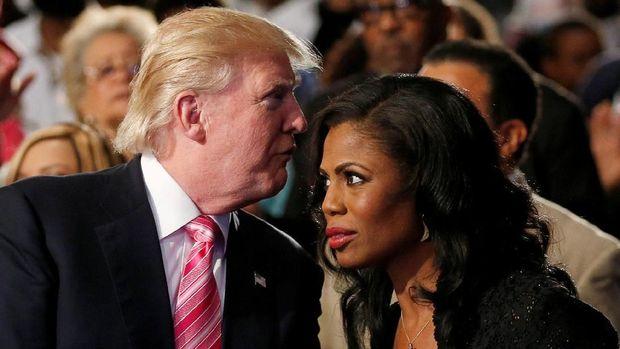 Omarosa dan Trump saat masih akrab.