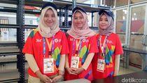 Volunter Asian Games 2018 Berhijab Ini Siaga Sejak Pagi Hingga Dini Hari