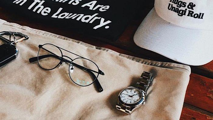 Kacamata Saturdays yang Dipakai Sandiaga Uno (Foto: Dok. Saturdays)