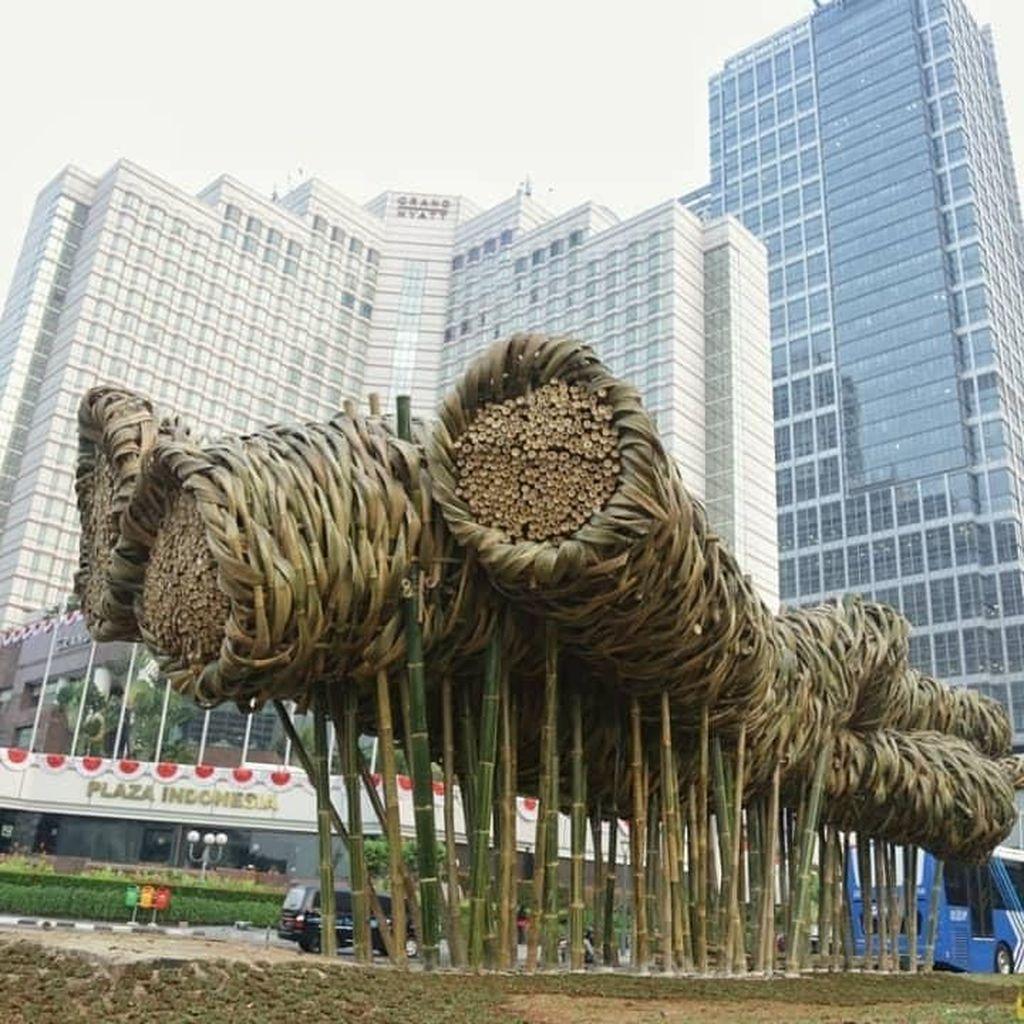 Selain Buat Seni Bambu Proyek Anies, Ini Karya Joko Avianto Lainnya