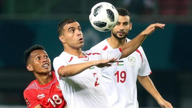 Timnas Palestina memuncaki klasemen Grup A Asian Games 2018.