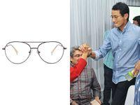 Harga Rp 1 Jutaan, Ini 5 Kacamata Brand Lokal yang Dipakai Sandiaga Uno