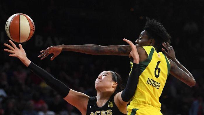 Pemain timnas basket wanita Korea Selatan Park Ji-Su (Ethan Miller/Getty Images)