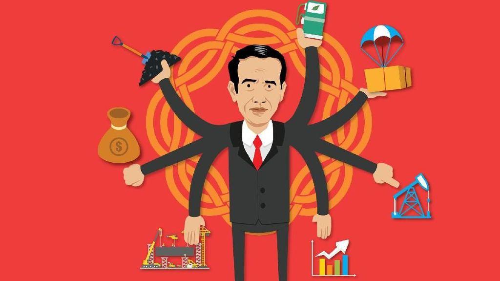 Jurus Jokowi Jinakkan Dolar AS