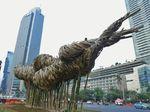 Anies Sebut Bambu di Bundaran HI Bukan Bentuk Sindiran