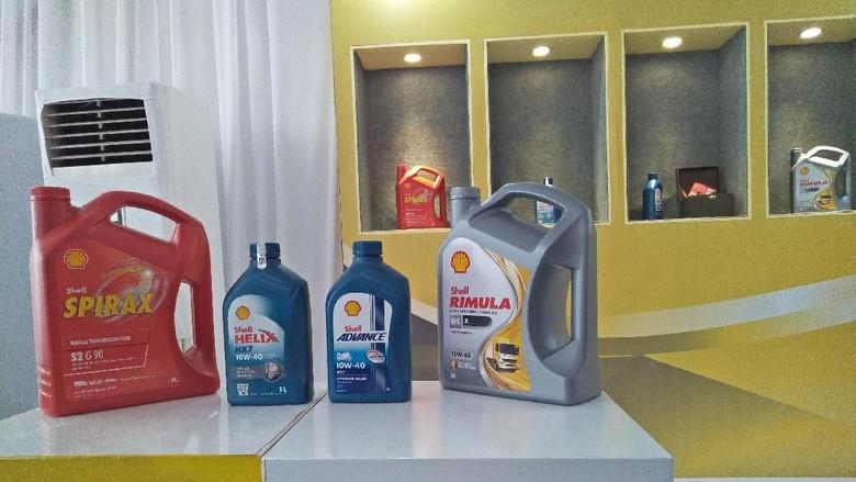 Pelumas Shell Foto: Ruly Kurniawan