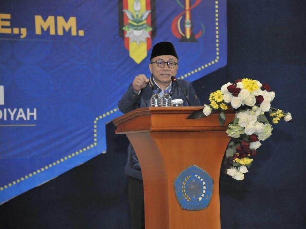 Zulkifli Hasan: Pilpres Nggak Boleh Pakai SARA dan Adu Domba
