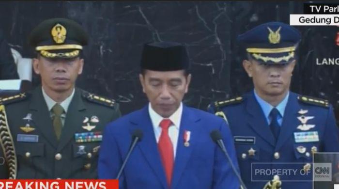 Foto: Screenshot CNN Indonesia TV