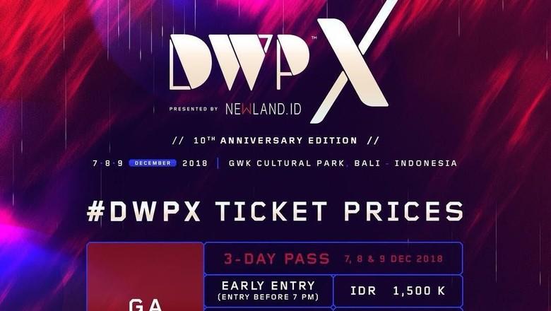 Tiket DWPX Ludes, Jumlah Penonton WNA Melonjak Pesat