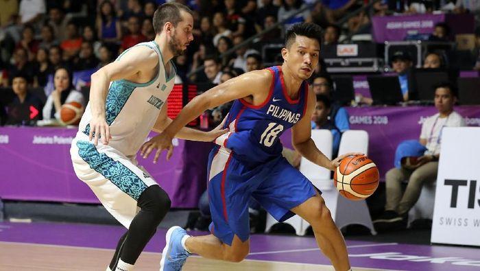 Timnas basket putra Filipina mengalahkan Kazakhstan 96-59 (Foto: INASGOC/Rocky Padila)