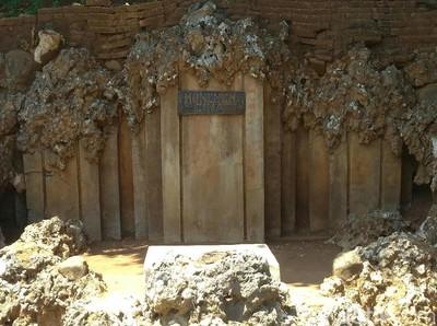 Foto: Lorong Rahasia Sultan di Gua Sunyaragi Cirebon