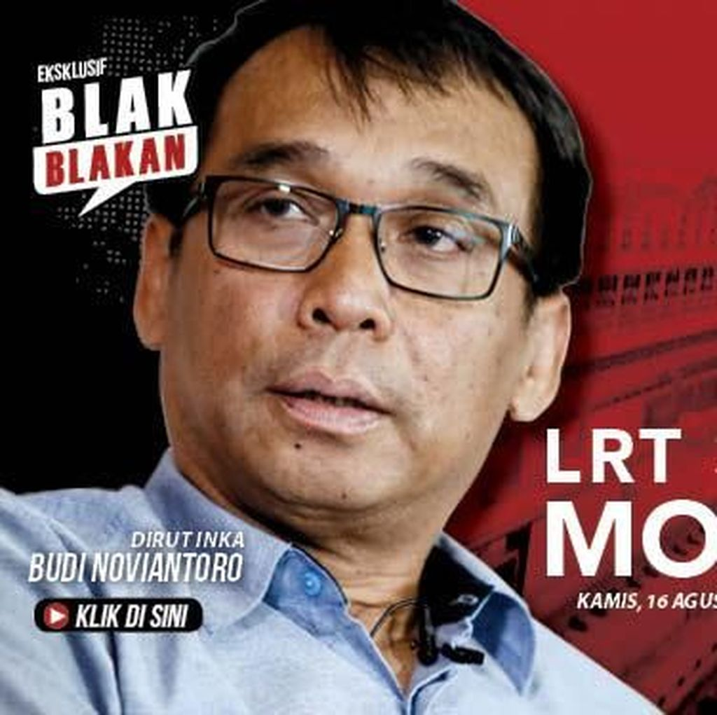 Tonton Blak-blakan Dirut INKA soal LRT 3 Kali Mogok Pukul 13.00 WIB