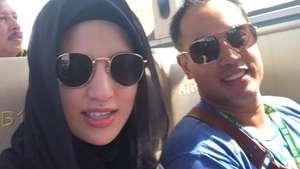 Gaya Chacha Frederica dan Nia Ramadhani Liburan di Amerika